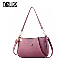 DIZHIGE Brand Luxury Solid PU Women Bag High Quality Crossbody Bags For Large Capacity Multi-pocket Female Shouldr New