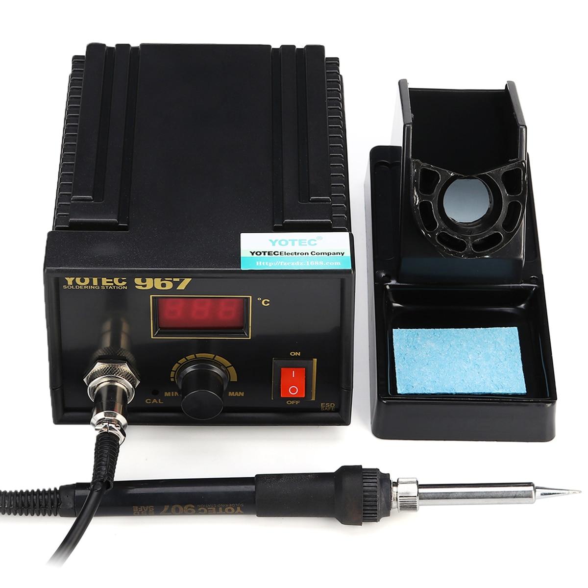 Forgelo 967 led digital estação de solda AC100--265V retrabalho solda elétrica para o telefone pcb ic smd bga soldagem