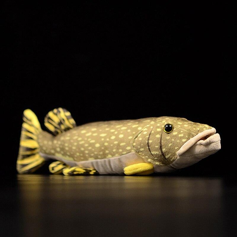 Лидер продаж, оригинальная Мягкая Реалистичная плюшевая игрушка в виде Северной рыбы, милая морская кукла-животное, Рождественский подарок...