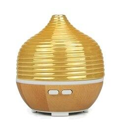 Aroma dyfuzor olejków eterycznych ultradźwiękowy nawilżacz powietrza cool mist oczyszczacz powietrza 7 led zmieniające kolor lampka nocna wtyczka amerykańska w Nawilżacze powietrza od AGD na