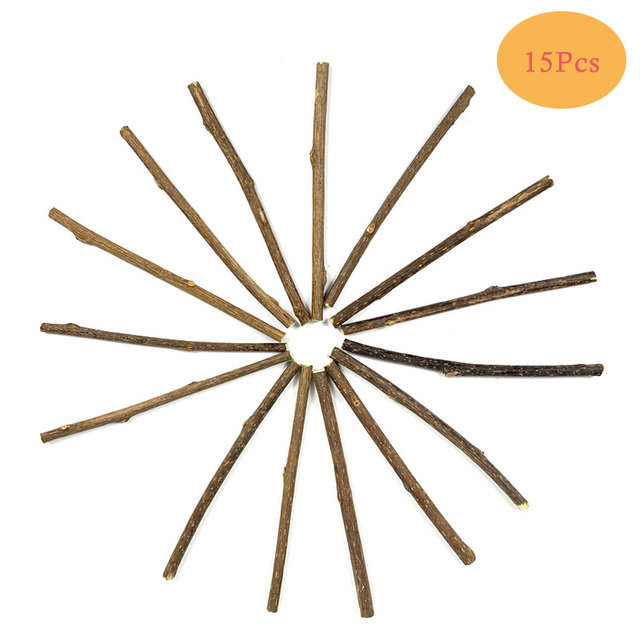 10/15/20pcs/lot Natural Matatabi Pet Cat Snacks Sticks Cleaning Tooth Catnip Cat Toys Actinidia Silvervine Pet Toy For Cats 6