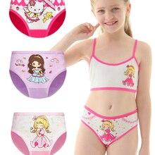 Cartoon Briefs Panties Underwear Girl Kids Cotton Cute for High-Quality Soft 4pcs/Lot