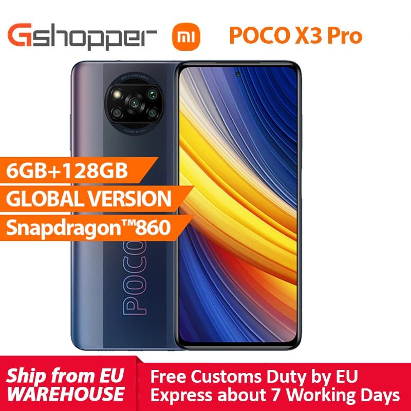 Xiaomi POCO X3 Pro Global Version 6GB 128GB Snapdragon 860 Smartphone 120Hz...