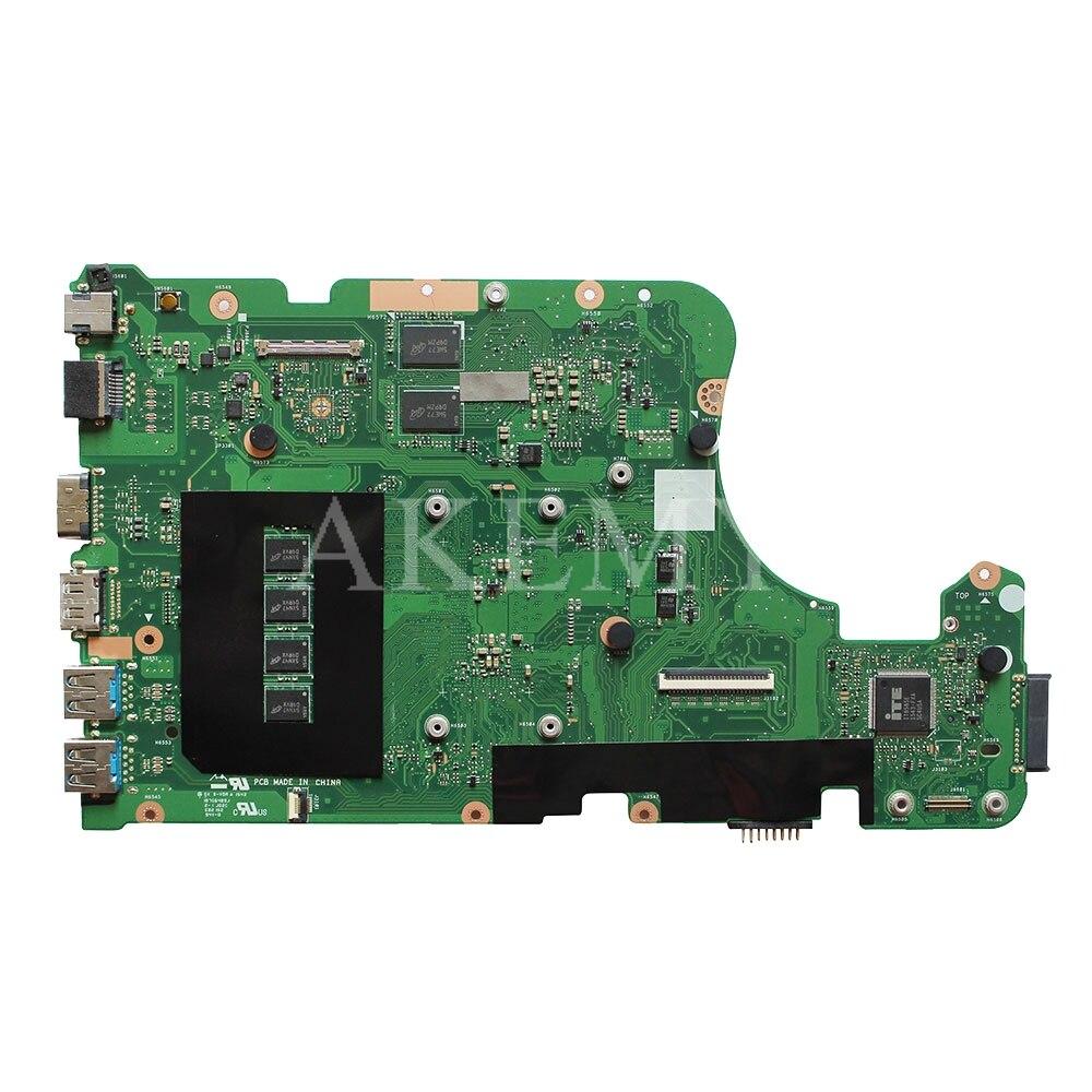 Placa-mãe do portátil para asus x555ld x555lp