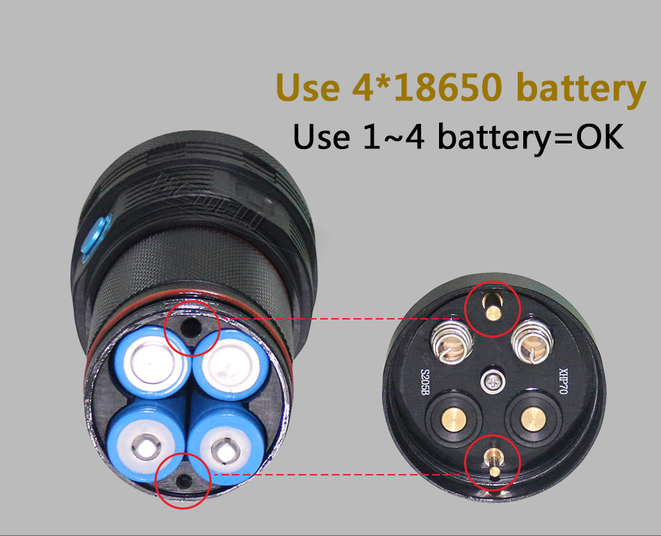 Acampamento lanterna de longo alcance 3xhp70 lanterna