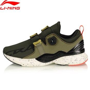 (Break Code)Li-Ning Men CRAZYRUNX Cushion Running Shoes Wearable Anti-Slippery LiNing Breathable Sport Shoes Sneakers ARHP135 1