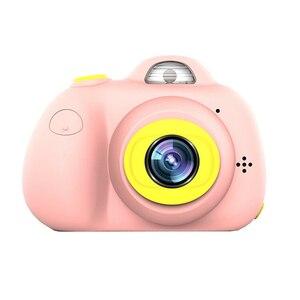 """Image 1 - Cámara Digital para niños, pantalla LCD de 2 """"1080P, Selfie gratis, tarjeta SD de 16GB, regalo de cumpleaños, 100% nueva y de alta calidad"""