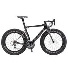 Rower szosowy SAVA rower szosowy z włókna węglowego kompletny rower szosowy z SHIMANO Ultegra R8000-88 MM zestawy kołowe rower wyścigowy tanie tanio Unisex Carbon Fibre Road Bike 165-180cm 7 8kg 1 33 Double V Brake 11kg 0 1 m3 Wiosna wideł (niska biegów bez tłumienia)