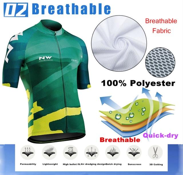 2019 verão de secagem rápida conjunto camisa de ciclismo mtb estrada bicicleta ciclismo roupas respirável mountain bike ciclismo conjunto 3
