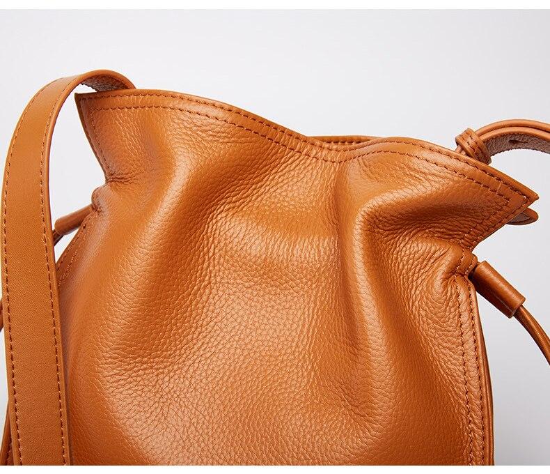 pequenos sacos de couro vaca senhoras sacos do mensageiro