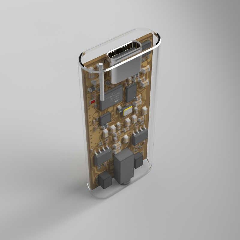 E1DA 9038 4s 世代 2 USB Dac ヘッドフォンアンプとケーブル