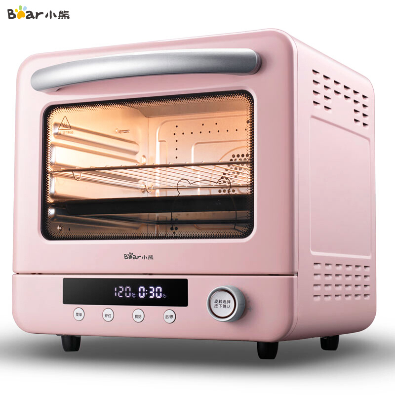 Household 20L Electric Oven For Bread Mini Oven Toaster Cyclone Steam Electric Oven Pizza Multifunction Breakfast Machine 220V