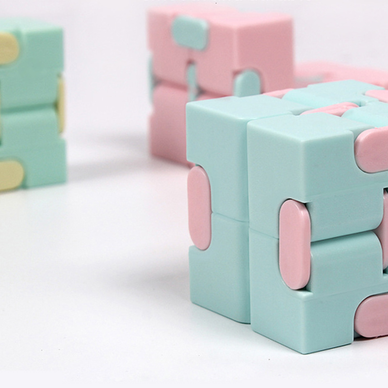 Infinite Cube Finger-Toys Stress-Relief Neo Magic Educational-Toys Relax Anxiety Mini img3