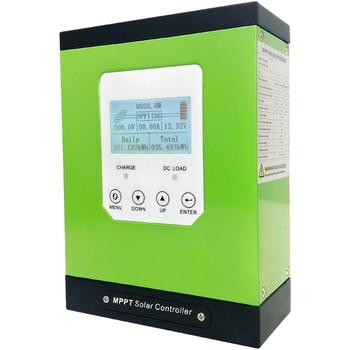 цена на mppt solar charge controller 20a solar panel regulator 12V 24V 48V  LCD auto lithium-ion battery lead-acid cell 20A