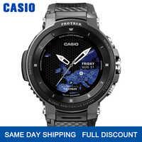 Casio Часы мужские g shock люксовый бренд водонепроницаемые спортивные наручные часы Смарт часы кварцевые часы мужские s часы GPS Смарт Мониторинг...