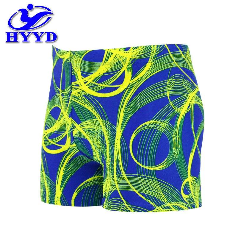 Swimming Trunks MEN'S Swimming Trunks Boxer Factory Price Sports Swimming Trunks MEN'S Swimwear Printed Sweat-wicking Swimming T