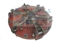 TB550.211A  o 10 polegada disco de embreagem com PTO para Foton FT404 FT454 TB504 trator  por favor verifique o diâmetro de sua embreagem|Peças de ferramentas| |  -