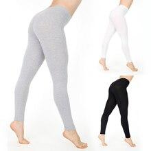 Moda mujer señoras adelgazamiento Skinny Shapewear pantalones Hot 2019 Fitness Legging elástico Pantalones negro de cintura alta gris blanco