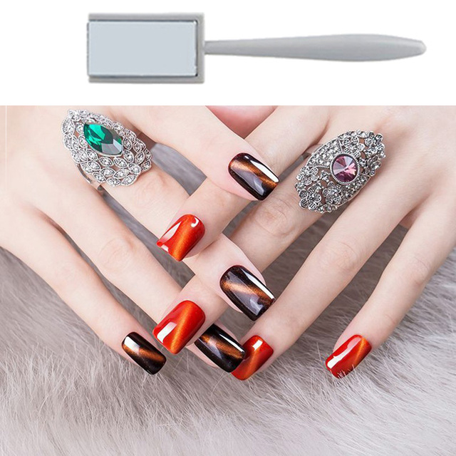 Nail Tools Cat Eye Magnetic Rod Powerful Magnet Suitable for cat eye gel polishing beauty nail tools Nail Art Decoration 3