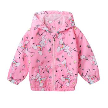 Dzieci kurtki turystyczne dla dzieci dziewczyny bluza z kapturem płaszcze odzież sportowa z długim rękawem zamek błyskawiczny z przodu wiatroodporne płaszcze stylowe sportowe kurtki tanie i dobre opinie freebily Dobrze pasuje do rozmiaru wybierz swój normalny rozmiar CN (pochodzenie) POLIESTER Girls Hooded Coat wiatroszczelna