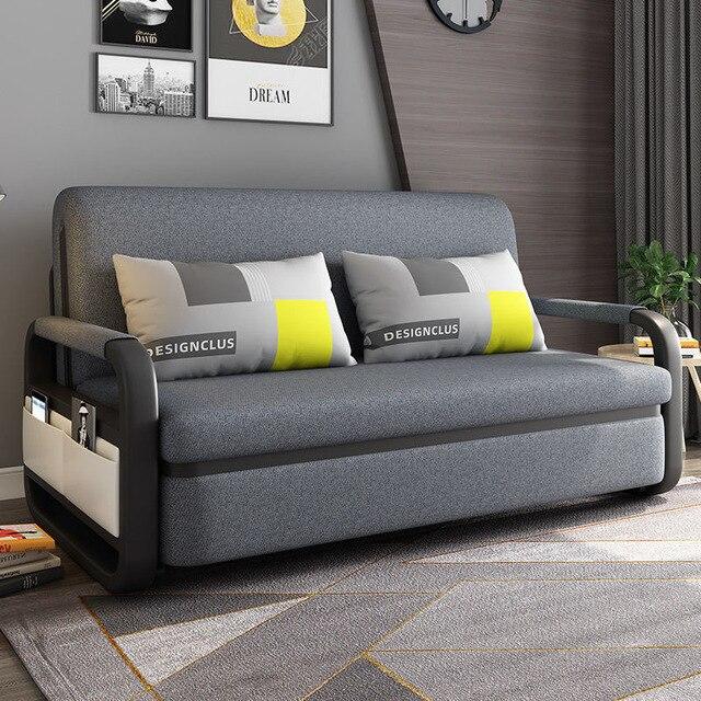Bit Cube Gray Folding Bed Sofa 2