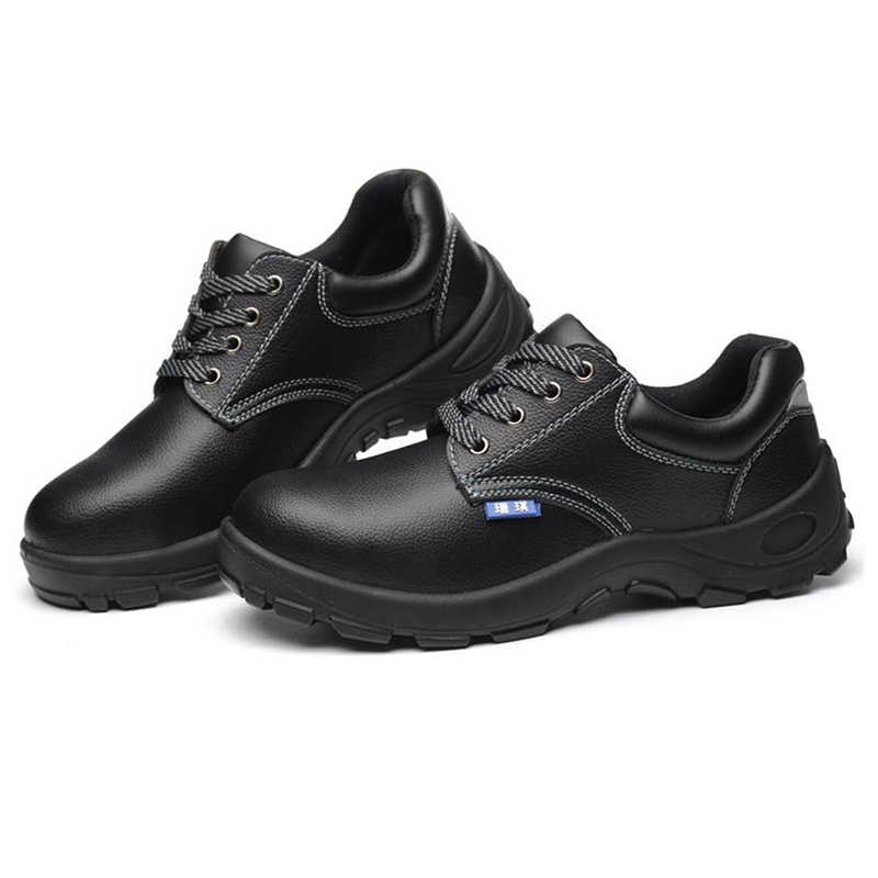Мужская Рабочая защитная обувь ботинки со стальным носком противоскользящие водонепроницаемые повседневные строительные защитные сапоги