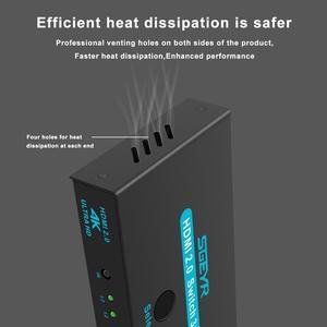 Image 5 - Sgeyr Hdmi 2.0 Switch 3X1 4K @ 60Hz 3 Port Hdmi Switcher 3 In 1 Out met Ir Afstandsbediening Hdmi 2.0 Hdcp 2.2 Voor Xbox PS3/4 Hdtv