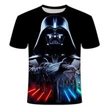 Men Darth Vader Heavy Metal printing Funny 3d T Shirts Short