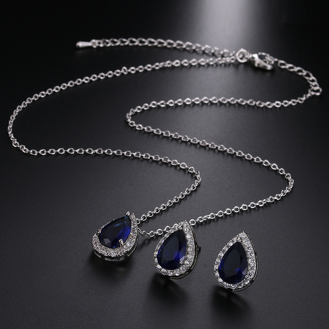 Luxury Crystal Bridal Jewelry Set 5