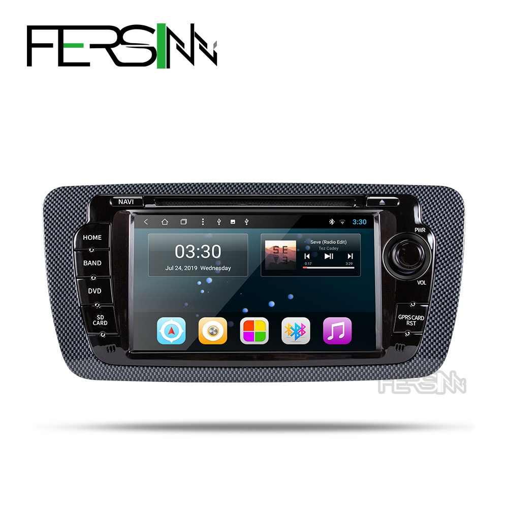 Fersinny android 9.0 T8 auto dvd voor Seat Ibiza 6j 2009 2010 2012 2013 radio gps navigatie