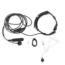 Telescopic Throat Vibration Mic Earpiece Headset for Baofeng UV 9R Plus Radio