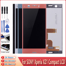 "4.6"" Original LCD For SONY Xperia XZ1 Compact Display Touch Screen Replacement For SONY XPERIA XZ1 Mini G8441 G8442 LCD(China)"
