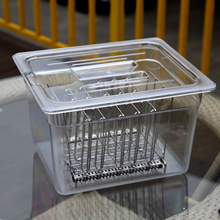 Detachable-Separator Cooker Vide-Containers Sous for Circulator Culinary Immersion Water-Tank-Rack