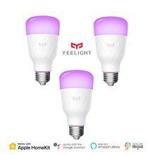 Yeelight Smart Led Lamp Kleur Versie E27 E26 10W 800 Lumens Wifi Afstandsbediening Werk Met Homekit Mijia App van Xiaomi Youpin