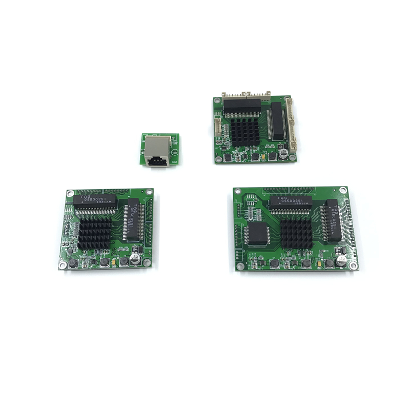 5 Ports Industrial Switch Module 5 Ports Unmanaged10/100/1000mbps  PCBA Board OEM Auto-sensing Ports PCBA Board OEM Motherboard