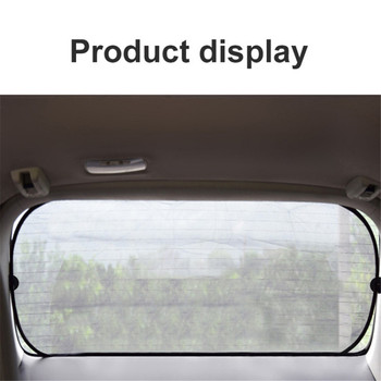 4PCS Car Window Sunshade Cover Block Car Side Window Shade Cling Sunshades Sun Shade Cover Visor Shield Screen For Kids Protect image