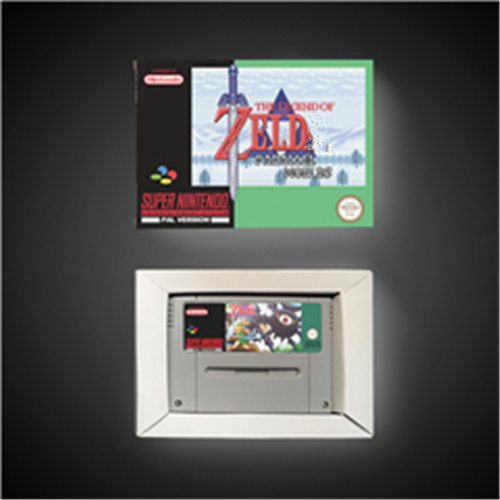 The Legend Of Zeldaed Parallel Worlds - EUR Version RPG Game Card Battery Save With Retail Box