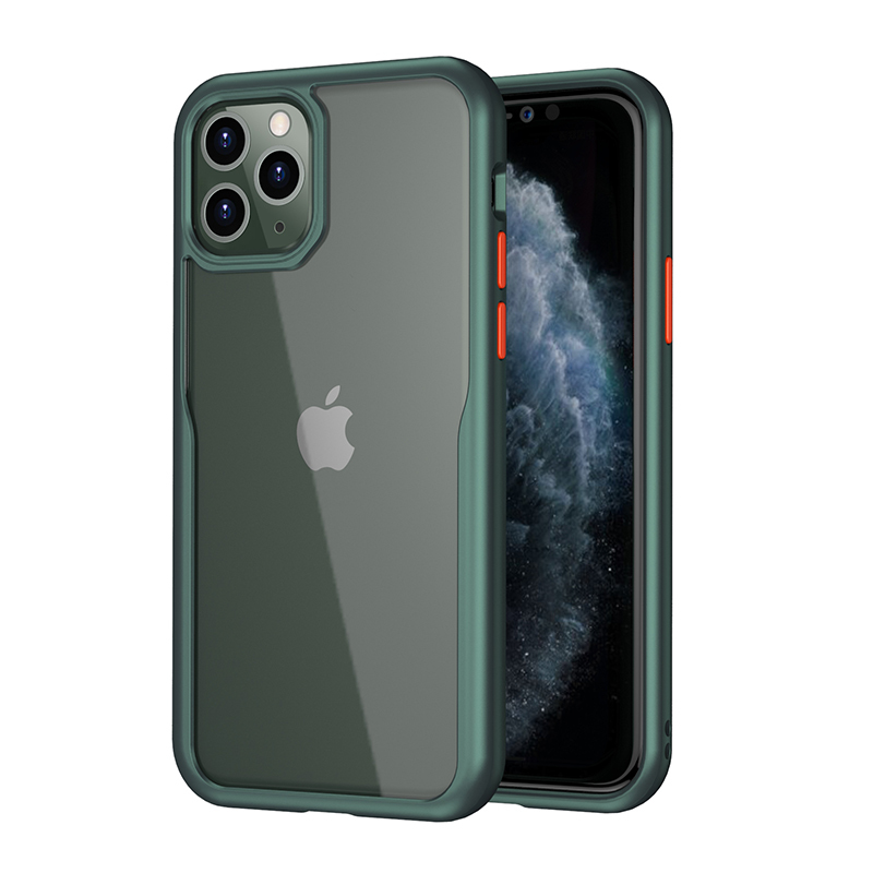Original hard transparent Shockproof tpu+pc Back Cover For iPhone11pro New Apple mobile accessories