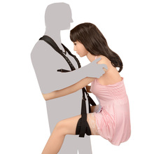 Couple Swing Slut Women Sex Kits Toys for Woman Thigh Bondage Nylon Slave Erotic