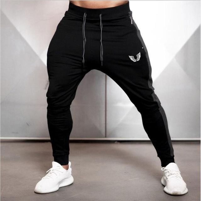2019 Fashion Men Side Seam Side seam stitching Skinny Sportswear Sweatpants Male Casual Leggings Trousers Joggers Pants Men 2