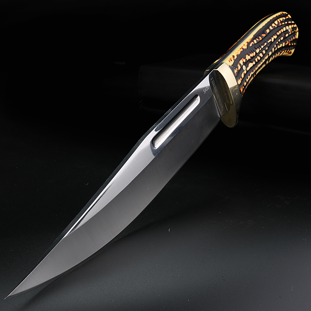 Resin handle camping knife SA20 outdoor survival keel fixed blade knife rescue knife wild survival knife hunting short knife
