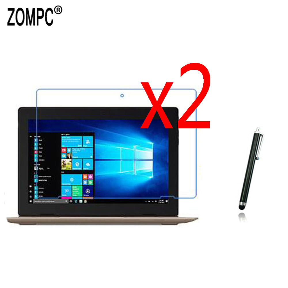 2x Soft Ultra Clear Films Screen Protector Protective Film Guards +1x Stylus For Lenovo Ideapad D330 D330-10IGM 81H3000BCD 10.1
