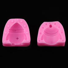 3D three-dimensional chick mold Fudge mousse cake silicone mold diy pastry baking chocolate silicone mold bear biscuit mold chocolate fudge mold silicone mold food grade silicone cake mold silicone mold