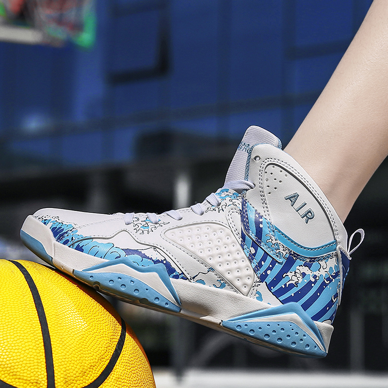 MEN BASKETBALL SHOES <font><b>Air</b></font> Mesh Original 13 <font><b>Retro</b></font> 1 Outdoor Sport Shoes For Boys Children kyrie <font><b>4</b></font> Tenis Basket zapatillas mujer image