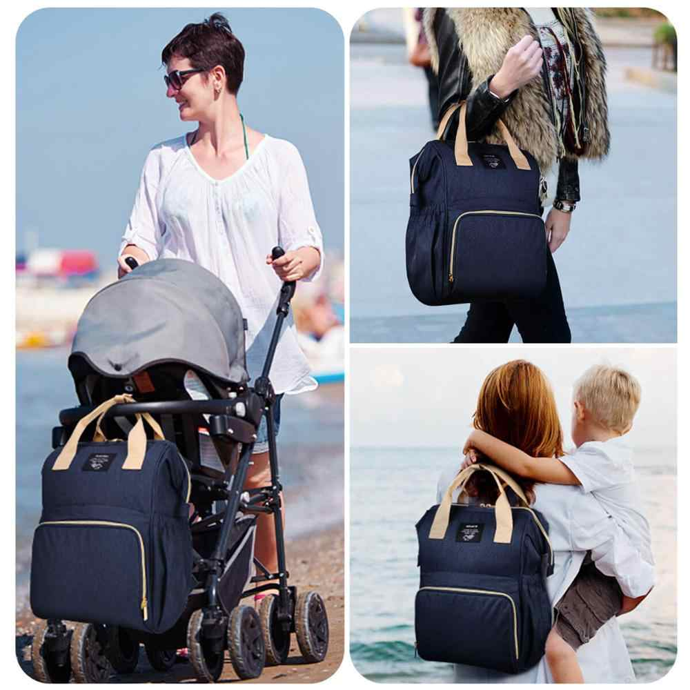 OSOCE موضة المومياء الأمومة الحفاض حقيبة العلامة التجارية سعة كبيرة حقيبة الطفل حقيبة السفر مصمم حقيبة التمريض لرعاية الطفل