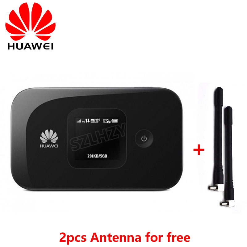 Unlocked Huawei E5577 E5577s-321 E5577cs-321 4G LTE Cat4 Mobile Hotspot Wireless Router 150Mbs 4G Mifi Modem Plus 2pcs Antenna