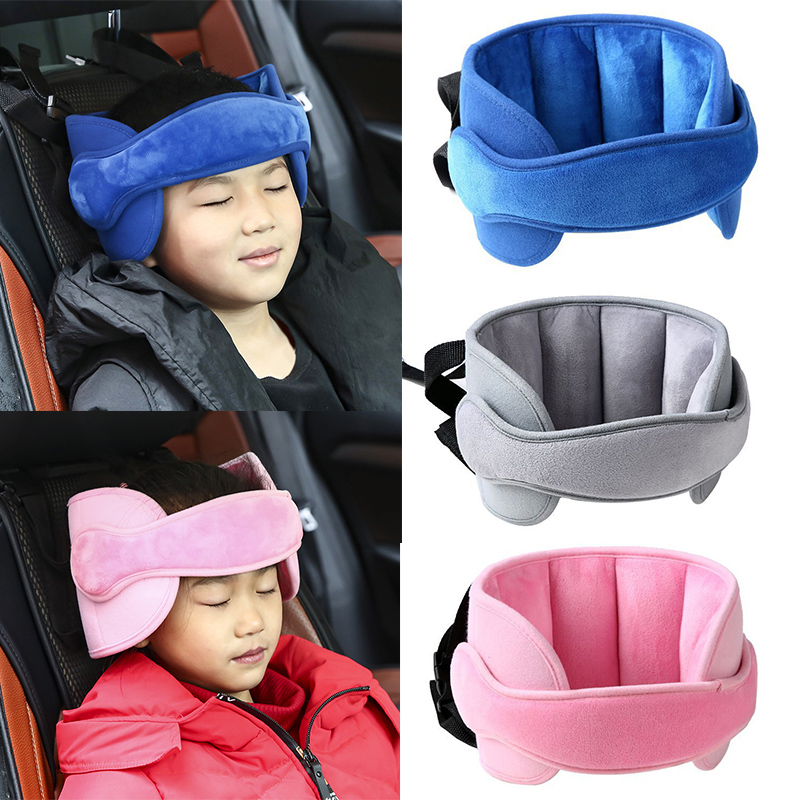 Baby Kids Safety Car Pillow Sleep Neck Pillow Car Seat Head Protector Belt Neck Nap Protective Head Soft Child Headrest Support
