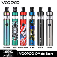 Original VOOPOO FINIC 20 AIO Pen 22W Kit 1500mAh Battery 2ml Tank 0.6/1.2ohm YC Cores LED Indicator Electronic Cigarette Vapor original electronic cigarette joyetech ego aio starter kit all in one 2ml anti leaking tank 1500mah ego aio battery vaporizer