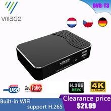 2020 Nieuwste DVB T2 Terrestrial Ontvanger Ondersteunt Youtube DVB T2 H.265 Hevc Decoder 1080P Full Hd Dvb T2 Tv Tuner Gebouwd in Wifi
