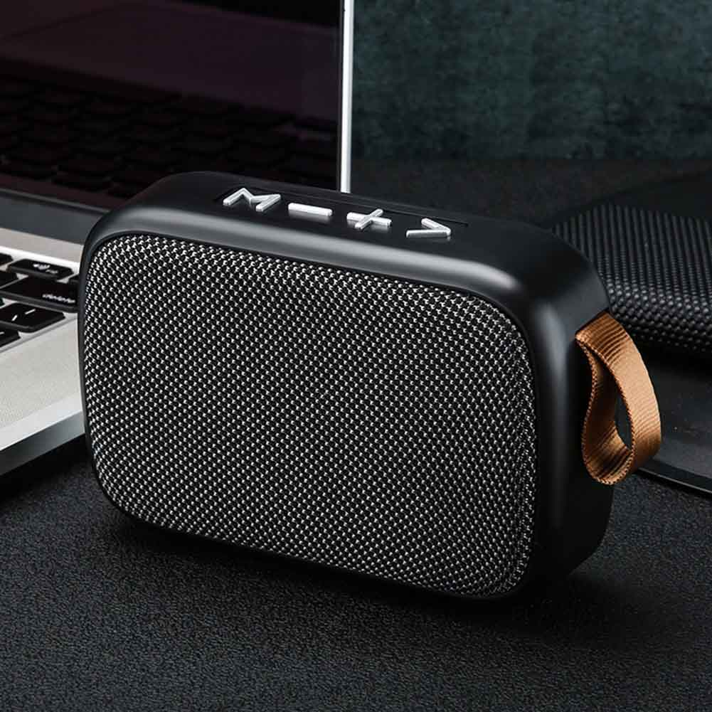 Rechargeable Outdoor Bluetooth Speaker Stereo Sound Office Tablet Mini Portable Loudspeaker FM Wireless Surround Smartphone Home